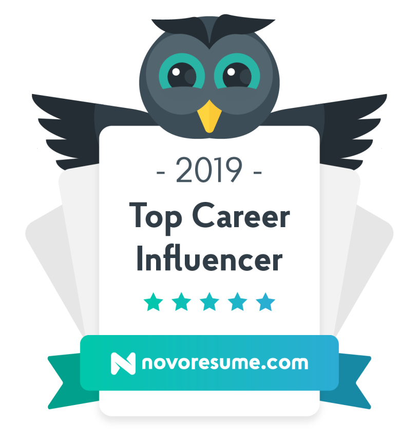2019 Top Career Influencer Badge